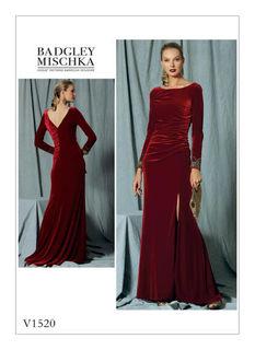 79ac8635b evening dress, ball dress, gown, cocktail dress, sewing patterns ...