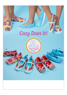 shoes, slippers, sewing patterns, patternpostie