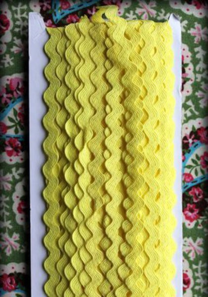 Ric Rac Lt Yellow
