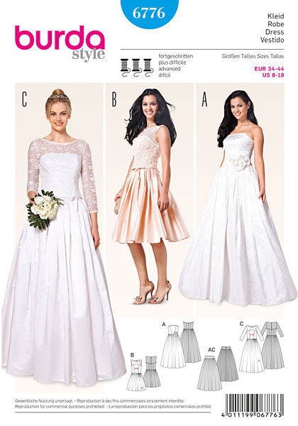 Evening dress sewing patterns nz