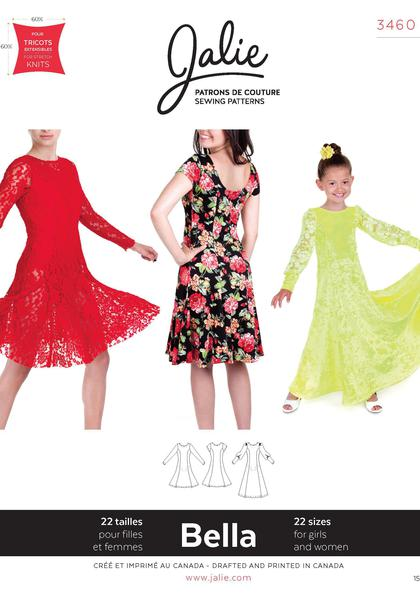 Sewing patterns, dancewear, letoards, unitards, lycra, stretch fabric