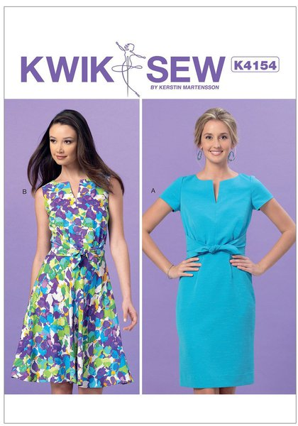 Kwik Sew 4154 Sewing Patterns Nz Dresses Childrens