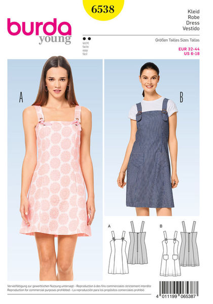 B6538 - Sewing- Patterns- NZ - dresses, childrens, babies, toddlers ...