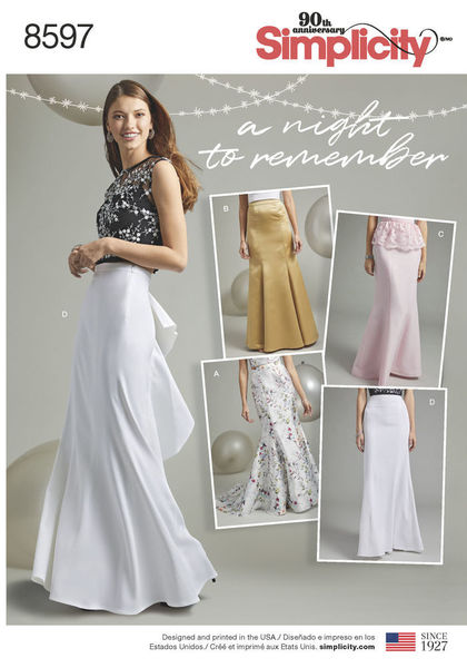 65a202fbd0ecd0 Mix and match your prom or special occasion look with these skirts sized  for Misses 8 - 16 and Women 18W - 26W. Silhouettes include fishtail with  and ...