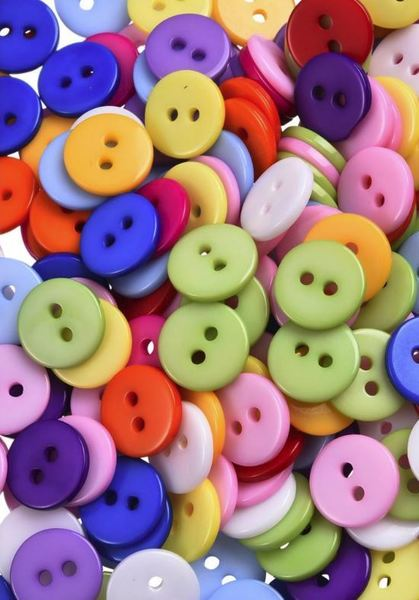 12mm Button Pack of 6