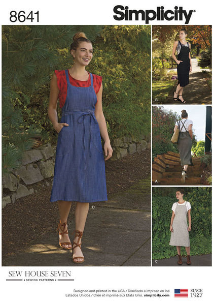 4e3f031f6 8641 - Sewing- Patterns- NZ - dresses