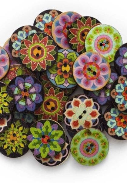25mm Flower (4 Pack)