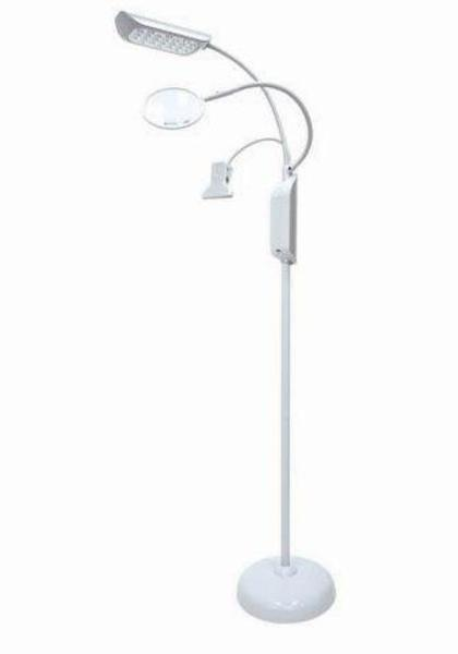 LED Floor Lamp with Magnifier *Freight Free*