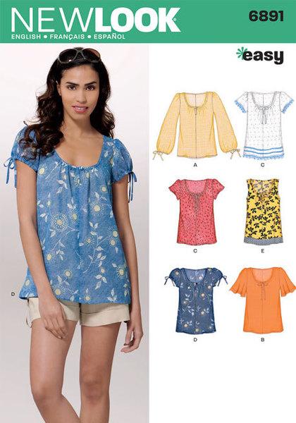 1ff960a6e5 6891 - Sewing- Patterns- NZ - dresses