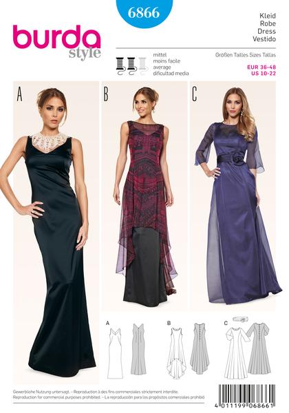Летние платья от бурда моден